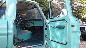 Ford Truck Interior 1967 Ford Truck F250 4x4 High Boy Restoration