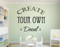 Best Vinyl Wall Decals Images On Pinterest Wall Signs - Wall sticker design your own