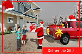 gift delivery santa christmas free gift delivery android apps on
