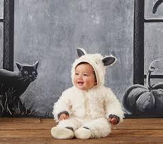 Lamb Halloween Costume Baby Knit Lamb Costume Pottery Barn Kids