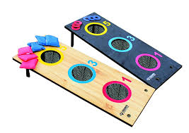 bag toss 2 in 1 3 hole bag and 3 hole washer ring throw