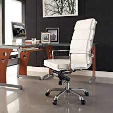 office modern black and white kitchen white and dark wood