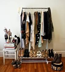 bedroom clothes clothes as home décor would you do it clothes racks