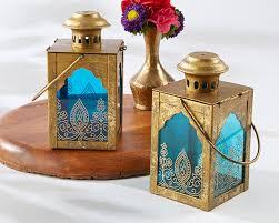 indian wedding favors indian sapphire blue lantern my wedding favors