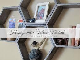 Diy Honeycomb Shelves by Diy Popsicle Stick Hexagon Shelf U2013 Craftbnb