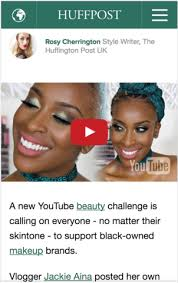 Challenge Huffington Post Jackie Aina Rocks Adesola In Essence Cosmopolitan Pop Sugar And