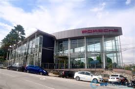 porsche showroom new porsche centre damansara and 2013 porsche panamera unveiled