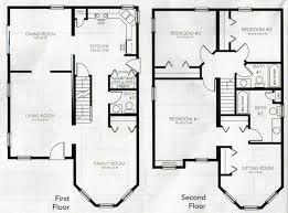 2 story 4 bedroom house plans vibrant ideas 4 bedroom cottage floor plans 12 log cabin on modern