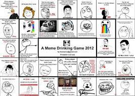 Meme Drinking Game - elegant meme drinking game ruinlord tay kaizhi deviantart kayak