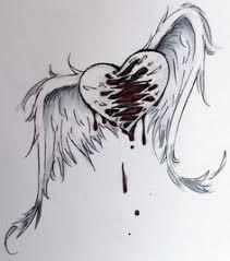 depresive draw on pinterest sad drawings broken heart drawings