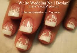 black and white nail designs for a wedding black and white nail