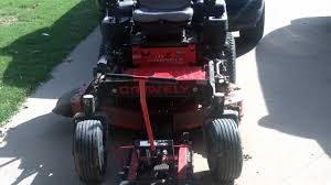gravely zero turn mower repair mower leaves grass behind while