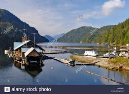 Floating Houses Floating Houses Homes On Great Central Lake Vancouver Island Bc
