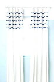 White Curtains With Blue Trim White Curtains With Navy Trim Large Size Of Unique White Curtains