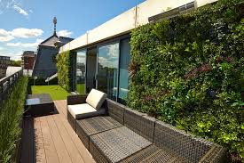 walled garden design patio modern with rooftop rooftop
