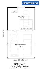 garage plan 37 41 house plans by garrell associates inc
