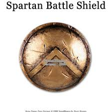 King Leonidas Costume Halloween King Leonidas 300 Spartan Greek Battle Shield Replica Pro Costume