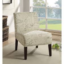 Armless Accent Chair Armless Accent Chair With Contemporary Furniture Style