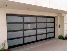 Overhead Door Panels Garage Design Ideas Glass Door Brick Exteriors Pertaining