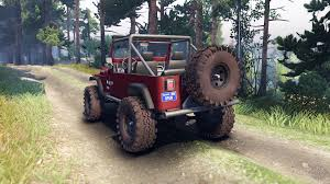 jeep maroon color yj 1987 open top maroon for spin tires