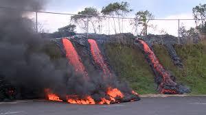 Hawaii Lava Flow Map Hawaii Lava Flow Closes In On Pahoa Transfer Station Nbc News