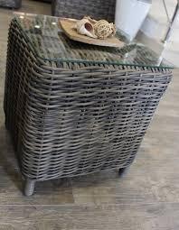 meuble en rotin pour veranda meuble de jardin en rotin synthétique mobilier de jardin