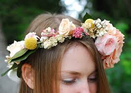Flower Decorations For Hair To Make A Flower Crown