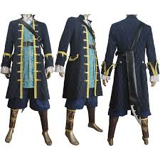 Captain Halloween Costume Pirates Caribbean Dead Men Tales Captain Armando