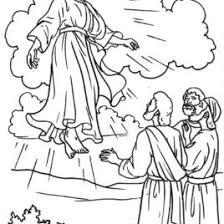 coloring page of jesus ascension coloring page jesus ascension archives mente beta most complete