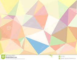 Pastel Colours Abstract Pastel Color Low Poly Bokeh Wallpaper Stock Photo Image
