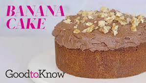 banana cake recipe goodtoknow