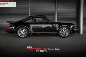 1986 porsche 911 turbo for sale 1986 porsche 911 930 turbo for sale in colorado springs co tp2580
