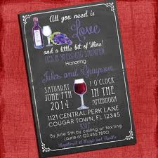 wine themed bridal shower invitations wine themed bridal shower