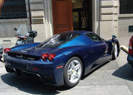 blue enzo and concept cars enzo