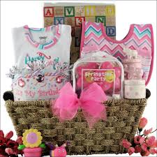 birthday gift basket birthday large baby girl birthday gift basket