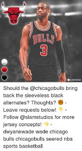 Chicago Bulls Memes - sslamstudios should the bring back the sleeveless black alternates