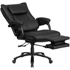 High Back Leather Recliner Chair Black Leather Reclining Chair With Lumbar Support Sithealthier