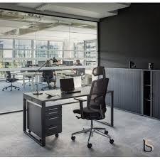 bureau manager bureau manager gris anthracite mdd bureaux de direction