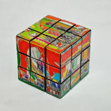 rubik cube decor singapore architecture abstract vintage art