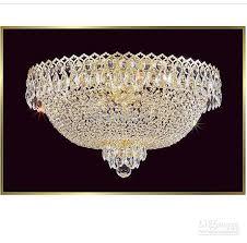 Crystal Flush Mount Ceiling Light Fixture by K9 Crystal Chandelier Modern Crystal Ceiling Light Flush Mount