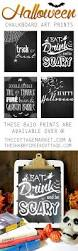 free halloween art free printable halloween chalkboard art