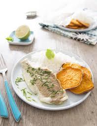 cuisiner du colin filet de colin lieu sauce menthe citron les meilleures recettes de