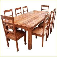eucalyptus wood dining table real wood dining table gorgeous round dining room sets furniture