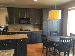 Painted Black Kitchen Cabinets Before And After Before And After Photos Of Kitchen Cabinet Painting Denver
