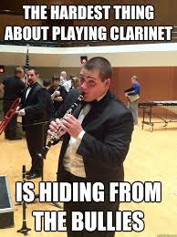 Bands Will Make Her Dance Meme - ptsd clarinet kid bands will make her dance 150 best marching band