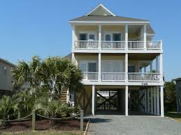 narrow lot beach house plans on pilings home act