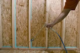 air sealing and insulation can air sealing with sprayable caulk greenbuildingadvisor com