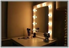 Diy Makeup Vanity With Lights Stunning Bathroom Vanity Mirror Lights Vanity Light Mirror Mirror