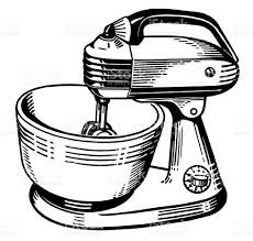 image gallery of kitchenaid mixer clipart
