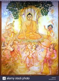 india bodhgaya 23 11 2007 buddha meditating the bodhi